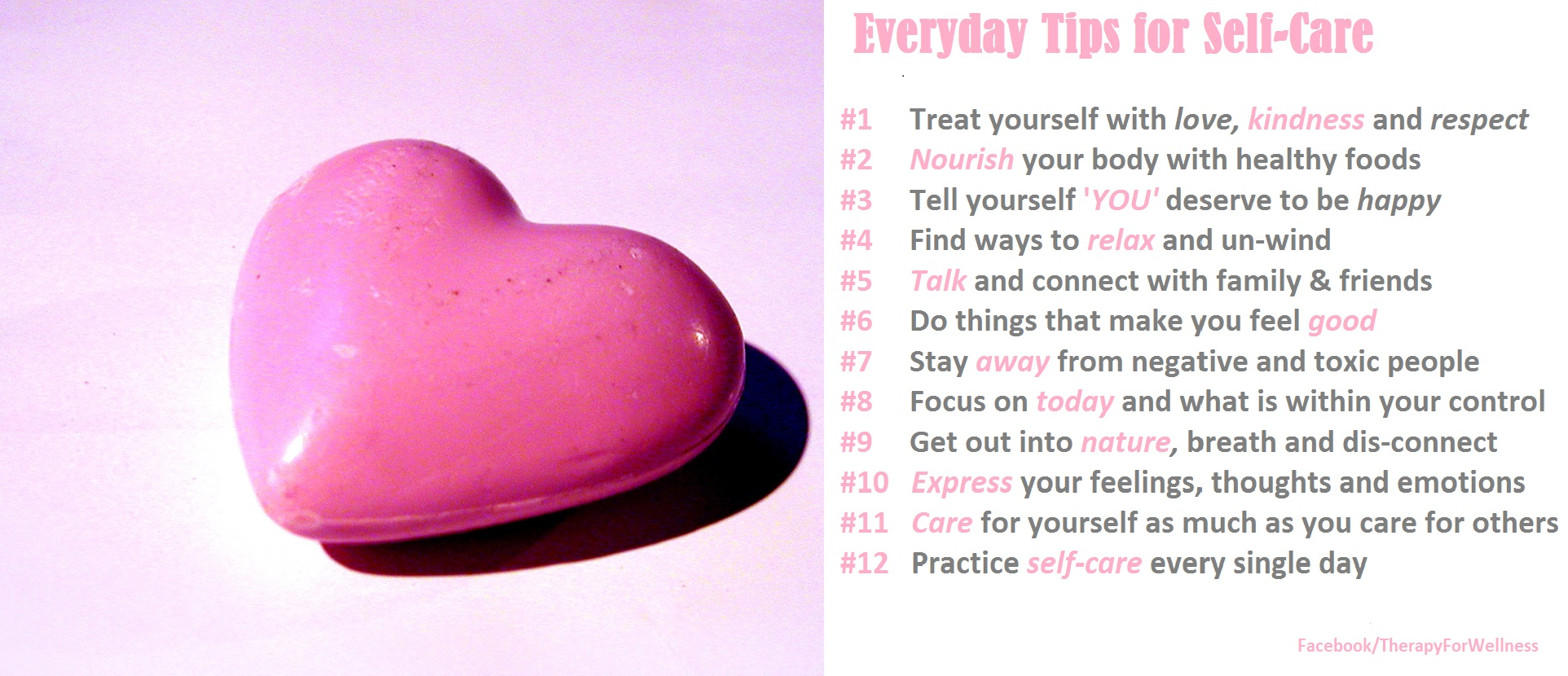 Everyday tips for self-care