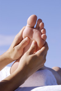 Ingredients for a powerful reflexology treatment